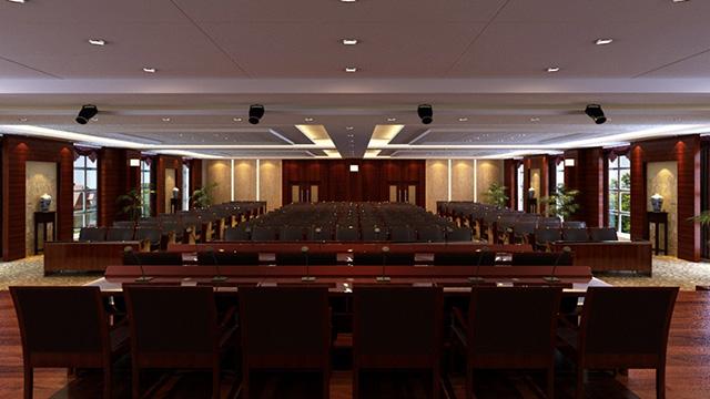 財政部駐廣西財政監察專員辦事處大會議室